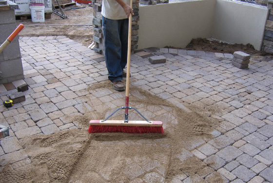 Awesome Pavers   Pavers Are Installed On The Sand Base. Pavers Can Be Laid In A  Number Of Different Styles And Laying Patterns Depending Upon Your  Preferences.